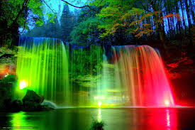 create meme waterfall beautiful