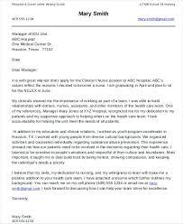 Graduate Program Cover Letter Cover Letter Nursing Graduate Cover Letter For Fresh Graduate