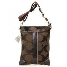 Coach Legacy Swingpack In Signature Small Coffee Crossbody Bags AVF Regular  Price   59.99