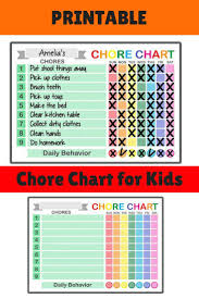 How To Make A Chore Chart Need A Fun And Easy Chore Chart For Kids Check Out This