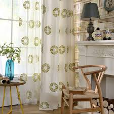 Sheer Curtains For Living Room Online Get Cheap Circle Hotel Aliexpresscom Alibaba Group