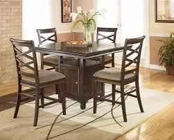 ashley furniture kitchen tables:  table and ergonomic high modern kitchen ashley furniture  pc dining room set w china cabinet to ashley furniture