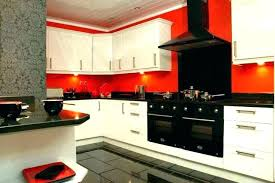 red and black kitchen decor red and black kitchen red kitchen decor ideas medium size of
