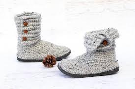 Crochet Boot Pattern Simple Decoration