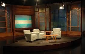 tv studio furniture. Brilliant Studio Joyce Meyer TV Studio In Tv Furniture