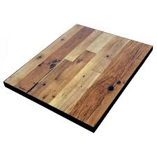 dining room amazing reclaimed wood tabletops with metal edge economy restaurant for table tops ordinary bases