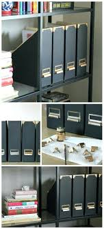 ikea office storage boxes. Ikea Kassett Magazine File Hack Fry Sauce Grits Office Storage Boxes Desk F