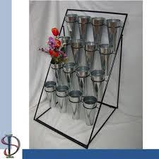 Metal Display Racks And Stands Bouquets Multlayers Display Stand flower metal step tiers 100