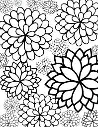 Printable Coloring Pages Of Flowers And Butterflies Flower And Butterfly Coloring Pages Beespectacular Club