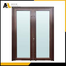 Double Swing Doors Double Swing Opening Aluminium French Casement Doors China