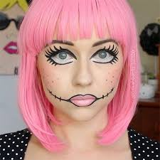 creepy ideas make up 12 doll makeup styles looks trends ideas 2016