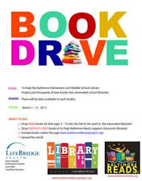 examples of book flyers book drive flyer template google search cps community