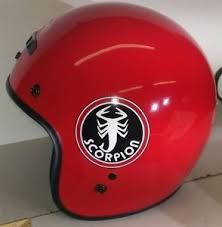 Details About New Retro Styled Vintage Scorpion Snowmobile Helmet