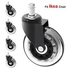 office furniture on wheels. Amazon.com: MySit 5x Replacement Casters For IKEA Office Chairs, 3\ Furniture On Wheels C