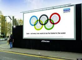 specsavers olympics ad plays on n flag mix up durex advert