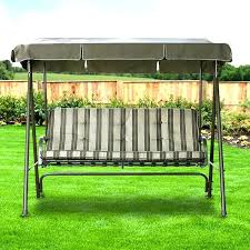 outdoor swing chair cushions outdoor 3 seat swing cushions