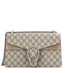 gucci bags new collection 2017. gucci bags 2017 collection 9796 dionysus gg supreme small coated canvas and suede shoulder bag - new a
