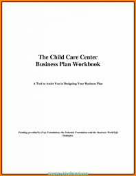 5 Cleaver Business Plan Sample Title Page Galleries Seanqian