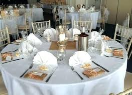 Round Table Settings For Weddings Table Settings For Weddings Template Setting Ideas Wedding