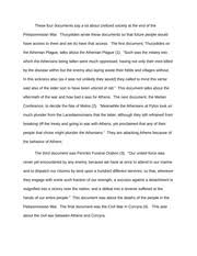 peloponnesian war study resources 2 pages paper on peloponnesian war aftermath