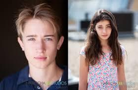Teen boys girl models
