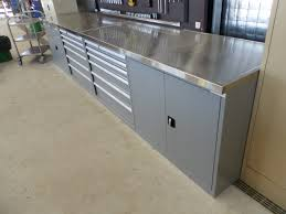 metal workbench top. stainless steel bench top cabinet combo. view metal workbench t