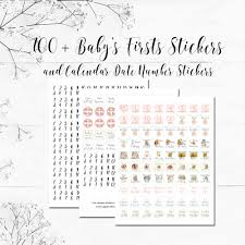 Beatrix Potter Babys First Year Calendar With Stickers