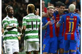 European Goal Scoring Charts On Fire Celtic Join Barcelona At The Top Of European Leagues