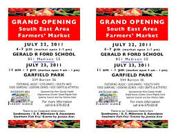 Grand Opening Flyer Inspiration Southeast Area Farmers' Market Grand Opening Flyer Our Kitchen Table