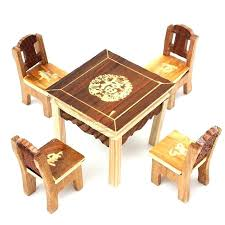 childrens wooden table and chair set child wood table and chair set set vintage wooden table