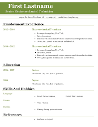 Resume Template Open Office Best Resume Templates For Openoffice Keithhawleynet