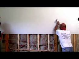 how to hang sheet rock how to remove and install sheet rock home repairs pinterest