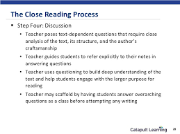 close reading essaysclose reading and the common core text annotation example     the close reading