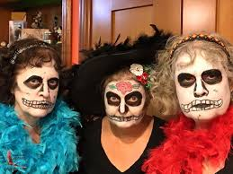 day of the dead makeup cl