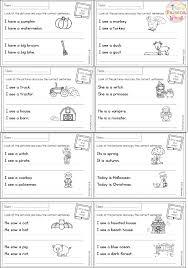 Sentence Writing Practice For Kindergarten Medium To Large Size Of ...