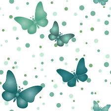 Butterfly Pattern Beauteous Seamless Blue Grey Butterfly Pattern Digital Art By Sylvie Bouchard
