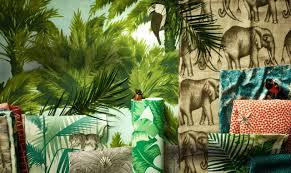 Gezien In Fd Persoonlijk Stadsjungle Palmen Behang En Stoffen