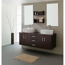 Double Bathroom Sink Cabinet Bathroom Acceptable Double Bathroom Sink Cabinets In Round Shape