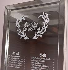 Event Calligraphy On Mirrors Slinging Ink Calligraphy Engraving