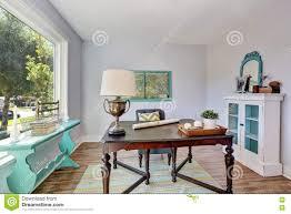 home office desk vintage design. Home Office Interior. Vintage Wooden Desk In Old Style House Home Vintage Design E
