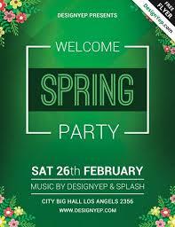 5 Free Spring Poster Templates 911prints 24hr Printing