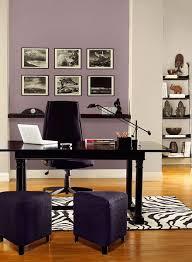 office color palettes. Gray And Purple Home Office Color Scheme. BM Paints Accent Wall: Mauve Blush 2115-40 Back Wall \u0026 Columns: Collingwood OC-28 Accent: Tulsa Twilight 2070-10 Palettes