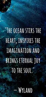 Beautiful Ocean Quotes Best of Our Favorite Ocean Quotes And Sayings Pinterest Scuba Diving