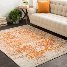 architecture lovely burnt orange area rug 24 hamza hand woven garnetburnt