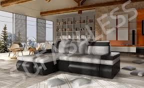 brand new oslo leather fabric c fabric corner sofa bed with storage awesome childrens beds