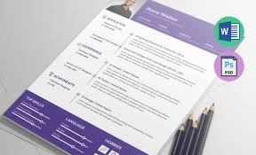 resume ux designer ux designer resume template in ms word docx psd formats