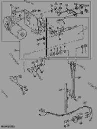 right hand windshield wiper and motor wiper motor no re56380 list of spare parts