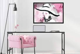 lady in large hat ii canvas wall art
