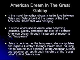 The Great Gatsby Corruption Of The American Dream Best of Great Gatsby Corruption Essay Writing Service Mbessaylnfq