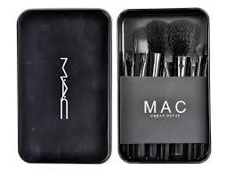 m a c makeup brush set 12pcs set
